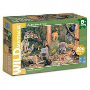 Blue Opal Wild Aust On the Forest Floor Jigsaw Puzzle