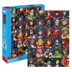 Marvel - Heroes Collage Jigsaw Puzzle
