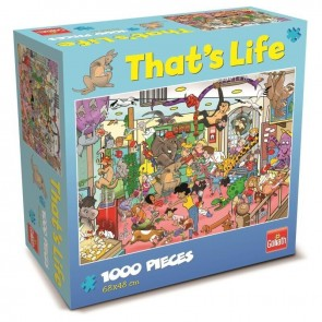 That's Life Pet Store Jigsaw Puzzle