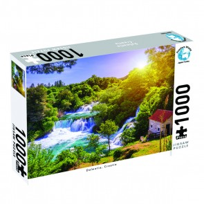 Puzzlers World Dalmatia, Croatia Jigsaw Puzzle