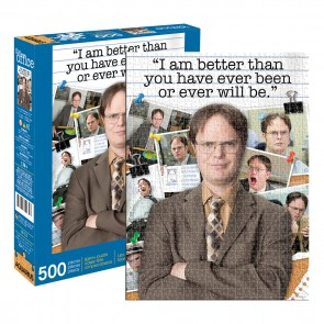 Aquarius The Office - Dwight Schrute Quote Jigsaw Puzzle