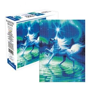 Unicorn Majestic Night - Aquarius Select 1000pc Puzzle