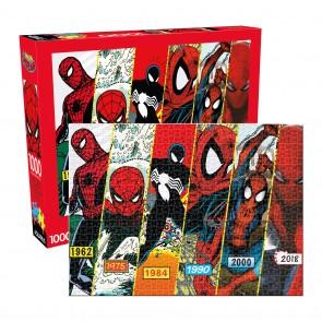 Aquarius Marvel - Spider-Man Timeline Jigsaw Puzzle