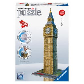 Rburg - Big Ben 3D Puzzle 216pc