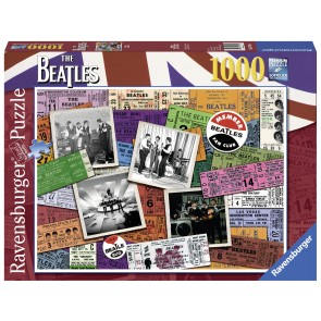 Beatles Tickets Puzzle