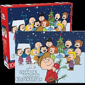 Aquarius Charlie Brown Christmas Jigsaw Puzzle