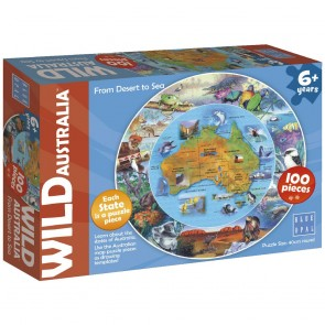 Blue Opal Wild Aust From Desert to Sea Jigsaw Puzzle