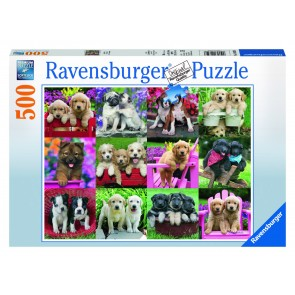 Rburg - Puppy Pals Puzzle 500pc