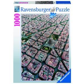 Barcelona von Oben Puzzle