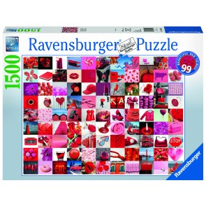 99 Beautiful Red Things Puzzle