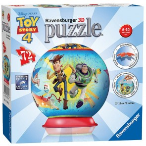 Ravensburger Disney Pixar - Toy Story 4 3D Spherical Unicorn ball Jigsaw Puzzle