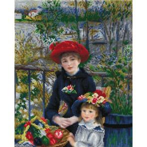 Diamond Dotz Two Sisters On The Terrace(Apres Renoir) Kit