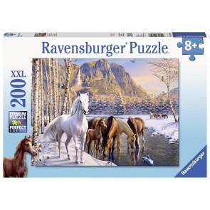 Winter Horses Puzzle
