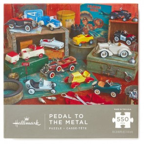 Pedal to the Metal 550-Piece Jigsaw Puzzle