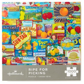 Ripe for Picking 1000-Piece Puzzle