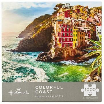 Colorful Coast 1000-Piece Puzzle
