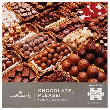 Chocolate Please! 550-Piece Puzzle