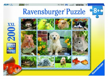 Rburg - My First Pet Puzzle 200pc