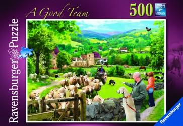 Rburg - A good team 500pc Puzzle