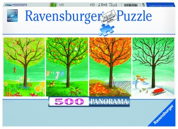 Rburg - Four Seasons 500pc Puzzle