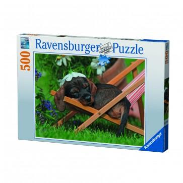 Rburg - Cute Dachshund Puzzle 500pc