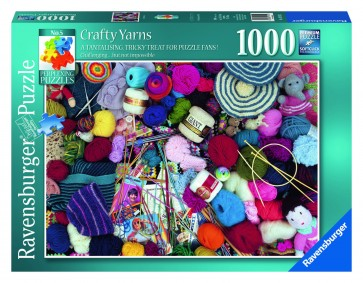 Rburg - Crafty Yarns Puzzle 1000pc