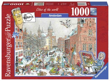 Amsterdam in winter Puzzle
