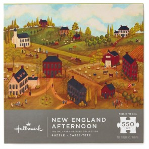 New England 550-Piece Jigsaw Puzzle