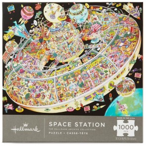 Space Station 1000-Piece Puzzle