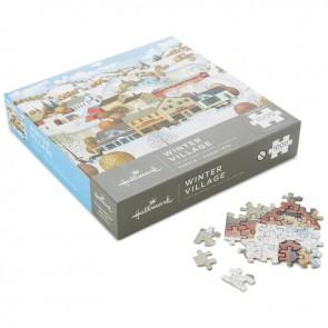 Winter Village 1000-Piece Puzzle