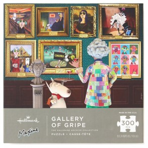Maxine's Gallery of Gripe 300-Piece Puzzle