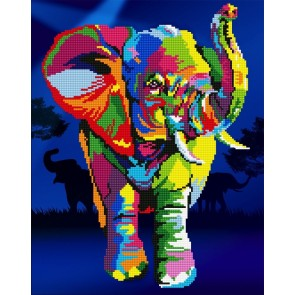 Diamond Dotz Diamond Art - Elephants Kit