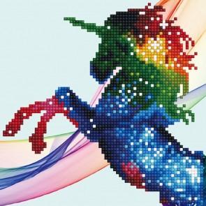 Diamond Dotz Diamond Art - Rainbow Ombre Unicorn Kit