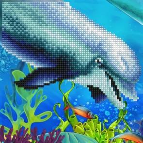 Diamond Dotz Diamond Art - Dolphin Kit