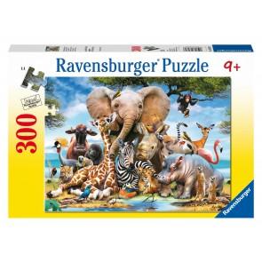 Rburg - Favourite Wild Animals Puzzle 300pc