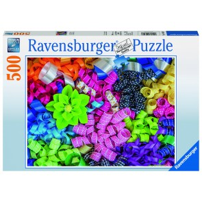 Rburg - Colourful Ribbons 500pc Puzzle