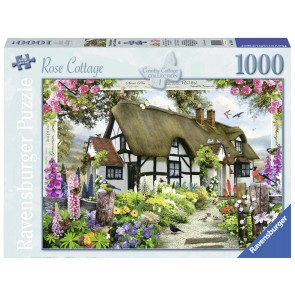 Rose Country Cottage Puzzle