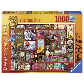Rburg - The Red Box Puzzle 1000pc