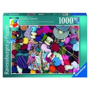 Rburg - Crafty Yarns Puzzle 1000pc
