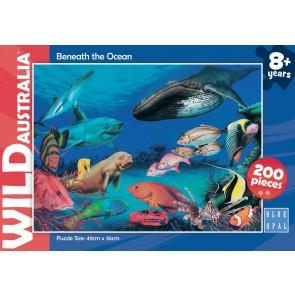 Blue Opal Wild Aust Beneath the Oceans Jigsaw Puzzle