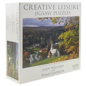 CL Waites River Village Vermont USA Jigsaw Puzzle