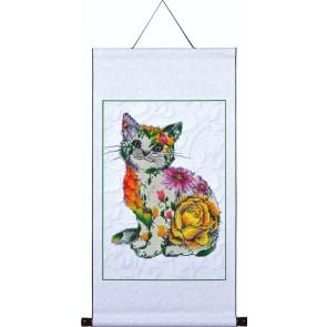 Diamond Dotz Scroll - Flower Puss Kit