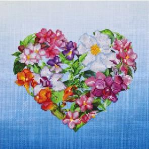 Diamond Dotz Flower Heart Kit
