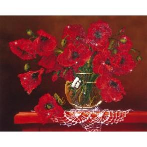 Diamond Dotz Red Poppies Kit