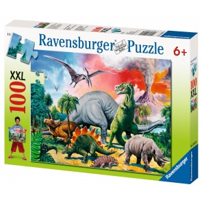 Rburg - Among the Dinosaurs Puzzle 100pc