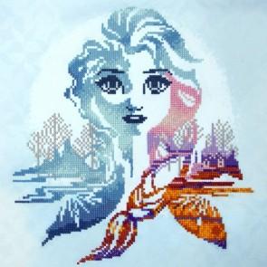 Diamond Dotz Frozen - Elsa Silhouette Kit