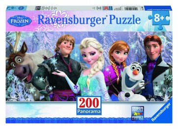 Rburg - Disney Frozen Friends Puzzle 200p