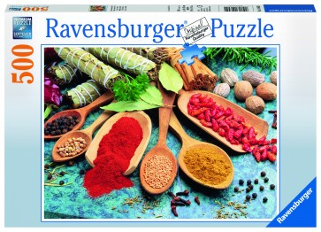 Rburg - Colourful Spices Table 500pc Puzzle