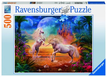 Rburg - Magical Unicorns Puzzle 500pc