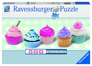 Rburg - Mouth-watering Cupcakes Puzzle 500pc